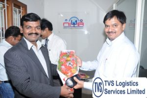 Mr Hitesh A_Head Technology Services TVS Logistics with Mr.Ramesh K