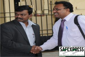 Mr Rajesh General Manager SAFEX with Mr.Ramesh K